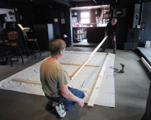constructing the screen